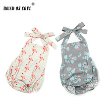 Cute Newborn Infant Baby Girls Rompers Summer Clothing  Outfits Sleeveless Romper Jumpsuit Playsuit
