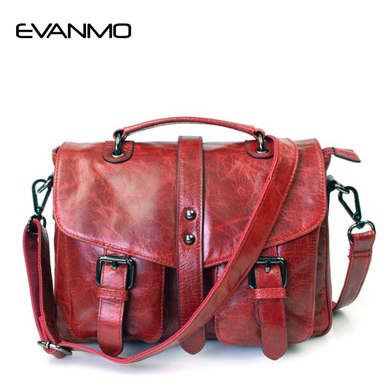 Hot Sale New Style Genuine Leather Women Messenger Bag 2 PCS/Set Pocket Design Shoulder Bags Vintage Design Hasp Crossbody Bag memunia new arrive hot sale genuine