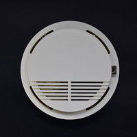 FGHGF High Sensitive Photoelectric Home Security System Cordless Wireless Smoke Detector Fire Protection Alarm Equipment
