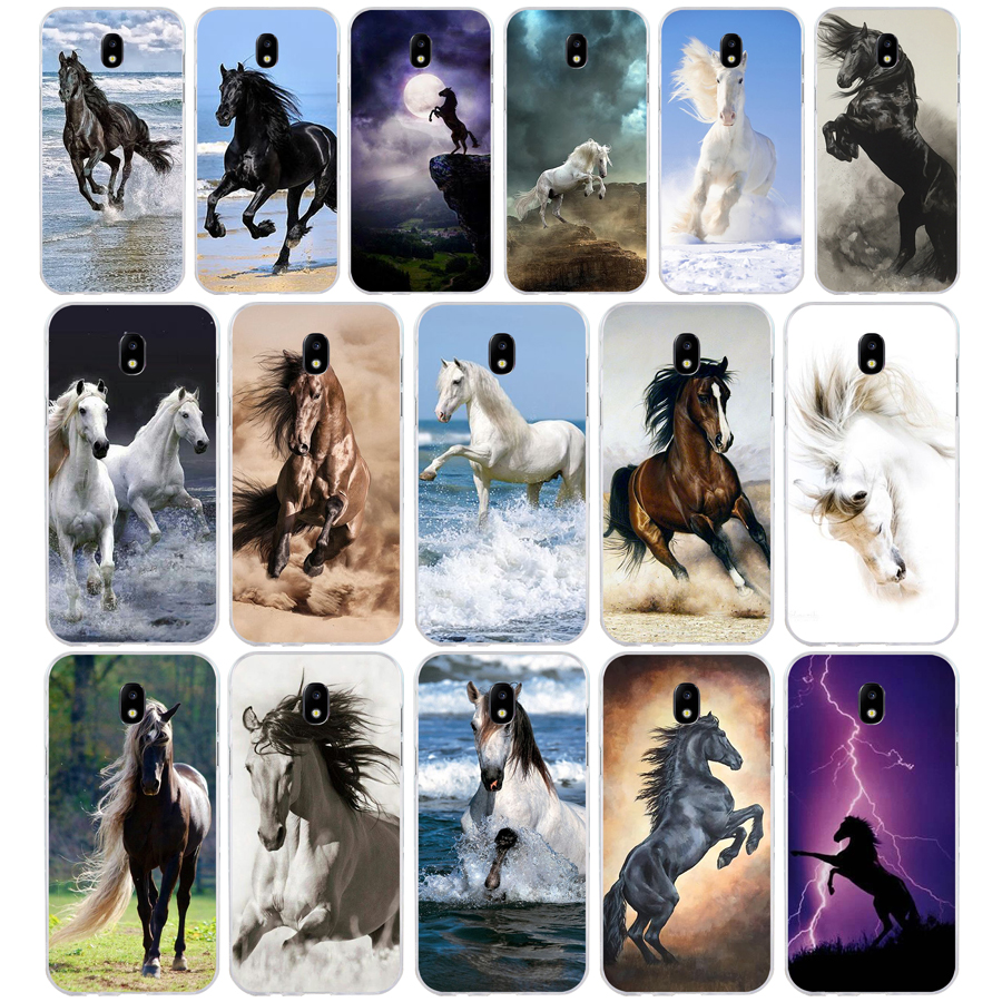 289SD <font><b>horse</b></font> Soft Silicone Tpu Cover phone <font><b>Case</b></font> for <font><b>Samsung</b></font> j3 <font><b>j5</b></font> j7 2015 <font><b>2016</b></font> 17 j2 prime j6 Plus 2018 image