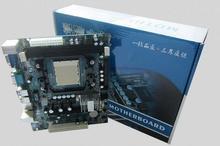 Новый для ADM C68 материнская плата поддерживает AM2 AM3 CPU/DDR2 DDR3 940 контактный 1 * pci
