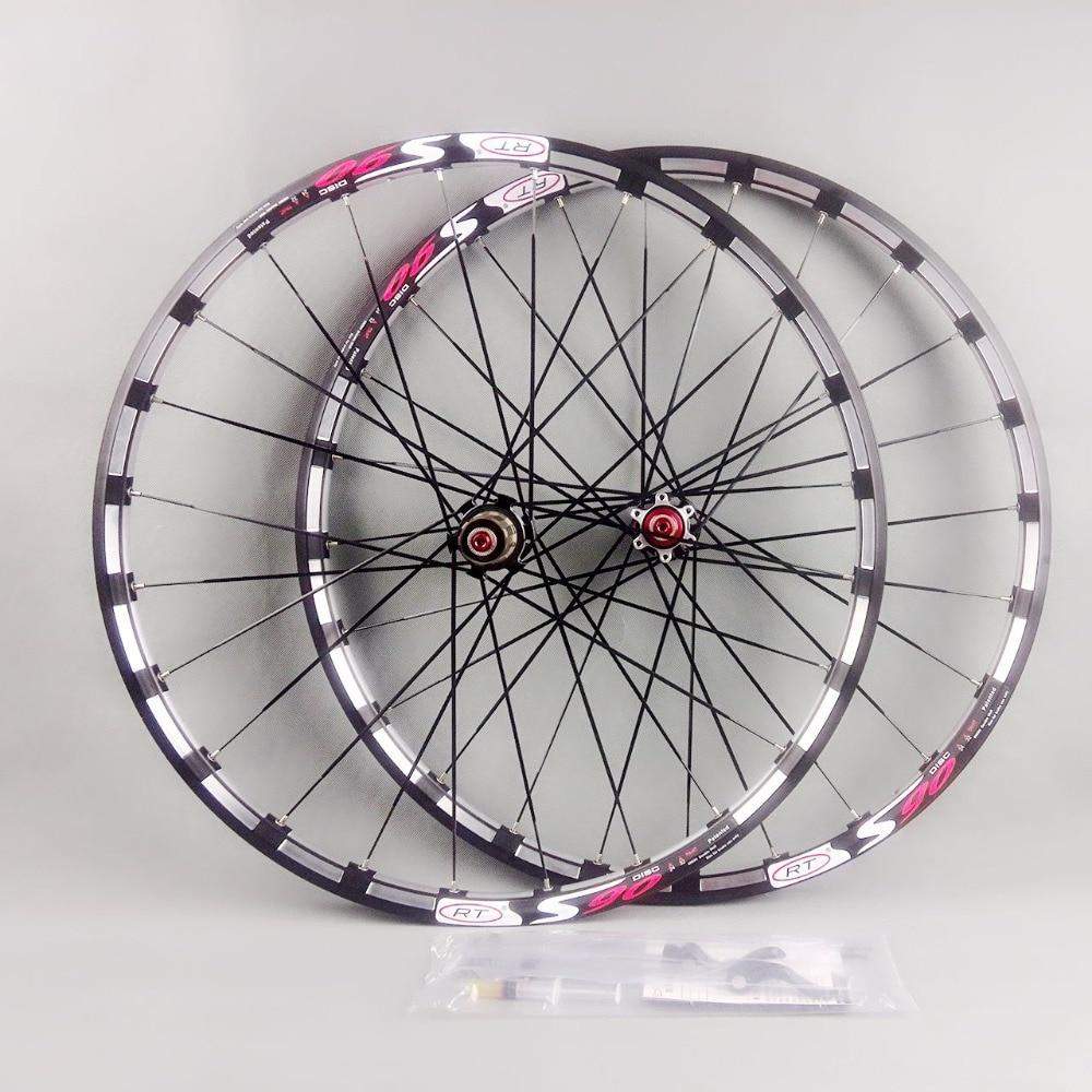 2017 date de vélo de montagne vélo Fraisage trilatérale RT avant 2 arrière 5 portant japon hub super lisse roue roues Jante livraison
