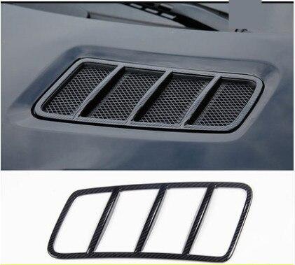 Garniture d'autocollant de capot de toit de moteur de voiture de Style de Fiber de carbone pour l'accessoire de voiture de Mercedes Benz ML GL GLS 2013-2017