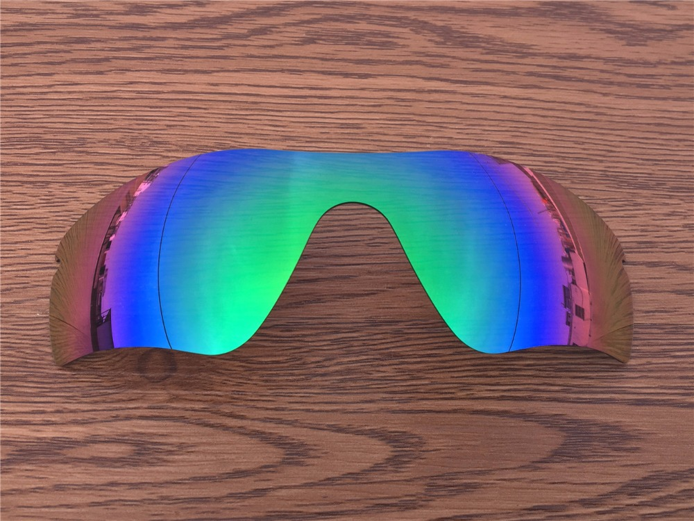 Emerald Green polarized Replacement Lenses for Radar path
