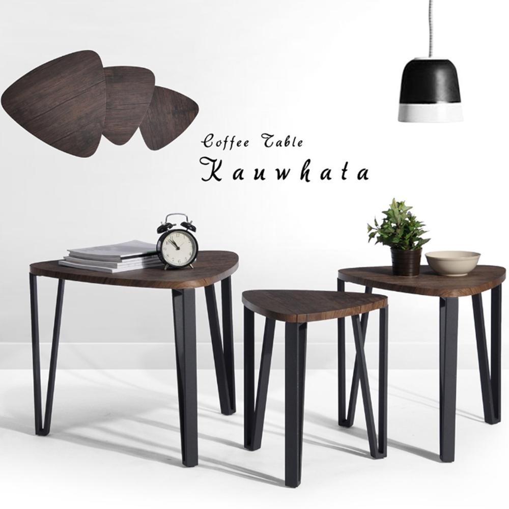 Astonishing Aingoo Coffee Table Set Of 3 End Side Table Stacking Tea Inzonedesignstudio Interior Chair Design Inzonedesignstudiocom
