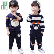 Toddler Boys Clothing Set Autumn Spring Clothes T-shirt+Pant 2pcs Outfit Kids Boy Sport Suit childrens clothing