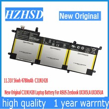 11 31V 56wh 4780mAh New Original C31N1428 Laptop Battery For ASUS Zenbook UX305LA UX305UA
