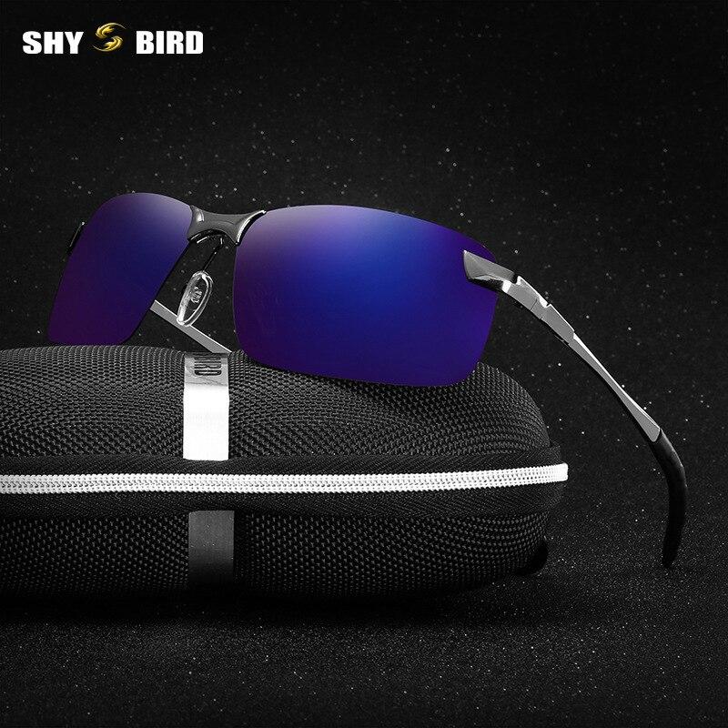 Shybird coche visión nocturna gafas polarizador antideslumbrante Gafas de sol polarizadas de conducción Gafas con caja 3043