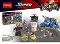 LEPIN 07034 774 Pcs Antman Batalha Blocos de Construção Do Aeroporto de Super-heróis Homem De Ferro Vingador Presente Modelo de Brinquedo Tijolos Compatível