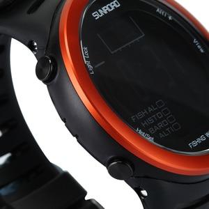 Image 2 - Многофункциональные цифровые часы для рыбалки, 5ATM водонепроницаемые, барометр, альтиметр, термометр, запись