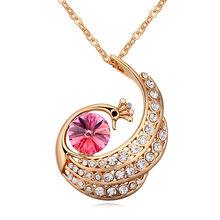 Новый модный бренд массивное ожерелье Роскошные Кристаллы от