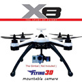 Profissional RC Quadcopters X8 Vôo 3D GPS 6 Eixos Giroscópio 2.4G 8CH OSD Quad Copter RTF Helicóptero de Controle Remoto RC Drone Dron