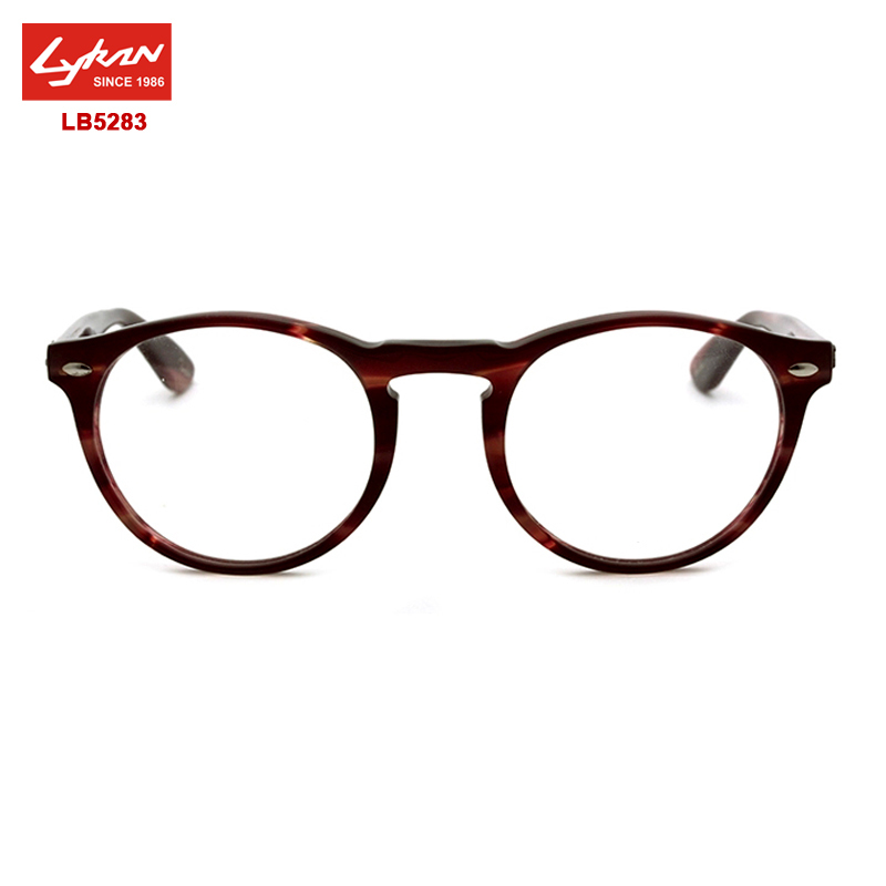 Brand Round Metal Frame Glasses LB5283 Vintage Eyewear Frames For ...