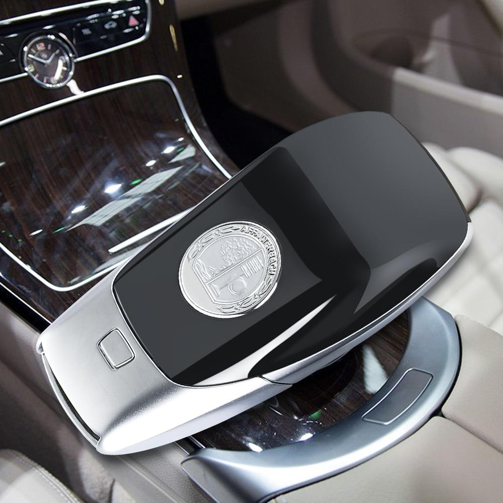 Metall Apple Tree Badge Key Cover für Mercedes Benz C G GLA Klasse AMG E S