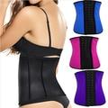 Latex waist cincher  latex Waist corsets 9 steel bone corset slimming gaine amincissante waist trainer girdle Belt