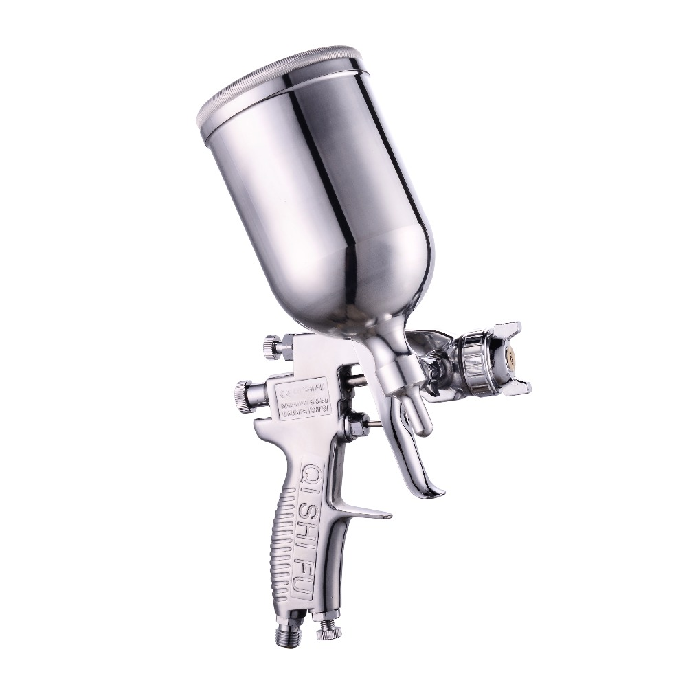 Pressure W-71 Manual Air Spray Gun 1.0 / 1.3 / 1.5 / 1.8mm Automotive Furniture Automotive Painting цена
