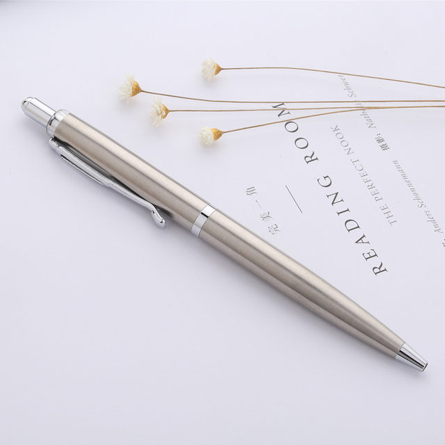 XianQin Metal Luxury Ballpoint Pen 0.7MM Press Refill Pens for Writing Roller Ball Pen Gift Stationery Office School Supplies 3