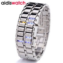 hot deal buy aidis popular brand men women fashion creative watches digital led display water shock resistant lover's wristwatches clock men