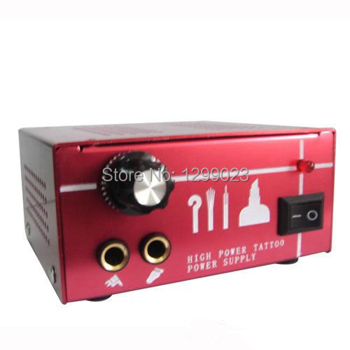ФОТО Dual Output Power Supply Power Supply Tattoo Power Supply PS-39 for tattoo machine gun kit high quality free shipping