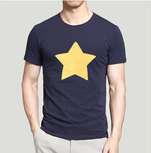 new arrival STEVEN UNIVERSE STAR men t shirt 2019 summer fashion casual loose fit 100% cotton high quality tops tees 8 colors(China)