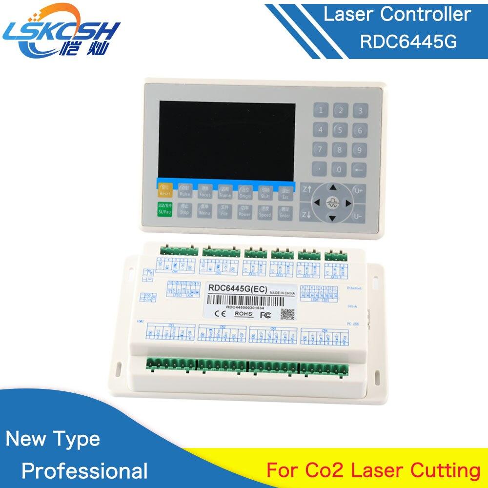 LSKCSH RDC6445 Ruida Controlador para Co2 Laser Engraving Máquina De Corte Atualização RDC6442 RDC6445G RDC6442S Atacado