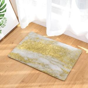 Image 5 - CAMMITEVER Luxsury Marble White Black Gold Carpet Bedroom Mat Rug Carpet for Living Room Rugs For Bedroom Kids Room Wholesale