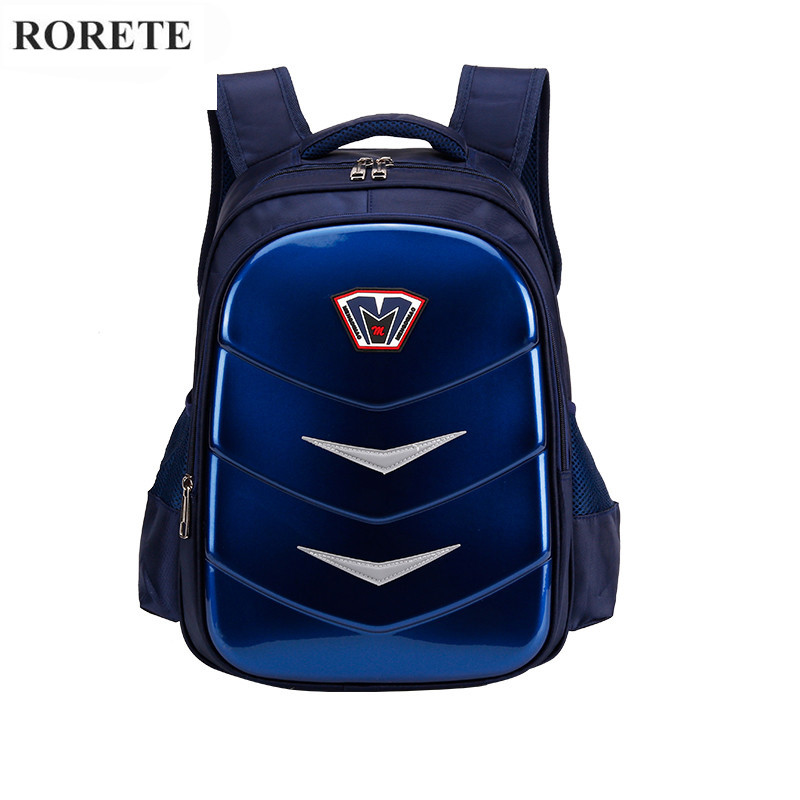 High Quality Orthopedic Waterproof School Bag Oxford Spinal Care Kids Children School Bag Night Reflective School Backpack Boy