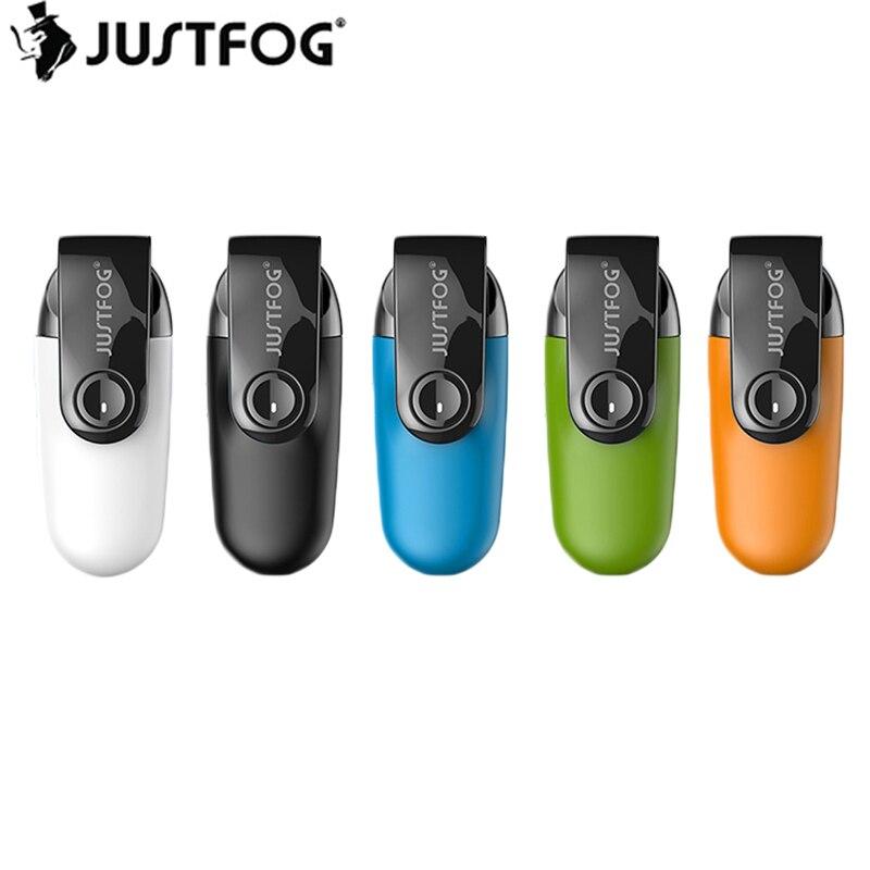 Kit de dosette Original Justfog C601 avec stylo Vape batterie 650 mAh et réservoir à dosette rechargeable 1.7 ml narguilé électronique vapeur de Cigarette