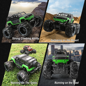 Image 4 - RC Car 2.4G Scale Rock Crawler Remote Control Car Supersonic Monster Truck Off Road Vehicle Buggy xmas gifts for kids