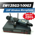 Высокое Качество 2 шт./лот Профессиональной EW135G3 УВЧ Беспроводной Микрофон EW 100G3 Беспроводная Система С e835 Ручной Передатчик Mic