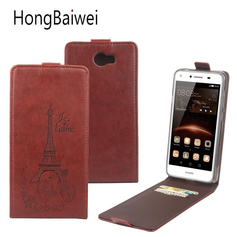 Flipfodral för Huawei Y5 II Honor 5A LYO-L21 4C 6C Pro Y6Pro Y6II - Reservdelar och tillbehör för mobiltelefoner