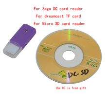 Sega DC card reader dreamcast TF card pembaca kartu Micro SD card reader DC