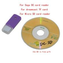 Sega Lector de tarjeta DC Dreamcast Tarjeta TF Lector de tarjeta micro SD Lector de tarjeta DC