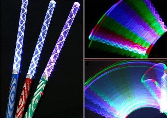 Teile los led stick farbwechsel led licht leuchten zauberstab