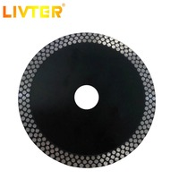 LIVTER 125mm 4.9inch Wave Style Diamond Saw Blade for Porcelain tile ceramic cutting aggressive disc marble granite Stone 10pics