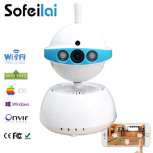 720P Wireless Security IP Camera Wifi IR-Cut Night Vision Audio Recording Surveillance CCTV sd card home smart yoose cameras