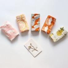 Купить с кэшбэком Baby Soothing Towel Super Soft Muslin Bath Towel For Newborns Multi Use Baby Bib Burp Cloth Kid Scarf Handkerchief 60x60cm 2Pcs