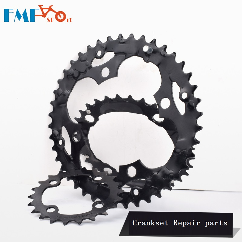 Bike 22T 64 BCD 32T 42T 104 BCD 8S 9S Bicycle Chain Wheel Crankset Repair Parts Gear Disc Spare parts <font><b>24</b></font> Speed 27 Speed Crankset image