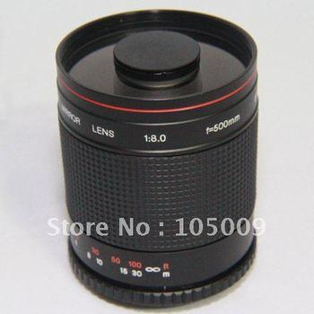 500mm f8 MIRROR TELEPHOTO LENS for E620 E450 E30 E520 E420 E510 SP-570 camera