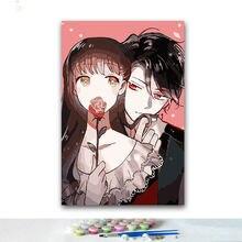 Картина «сделай сам» цифровая живопись картина по цифрам уникальный