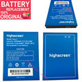 3.7 v 6000 mAh Para Highscreen Pura F Bateria Batterie Batería Del Teléfono Celular de Reemplazo Baterías Originales