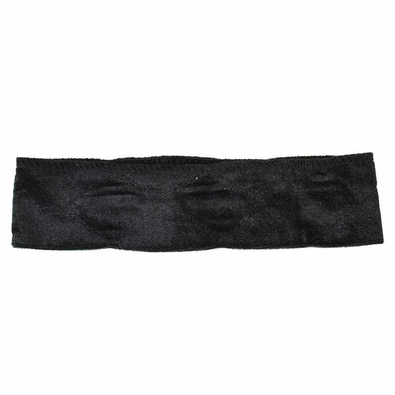 Новый 1 шт Гибкая бархатная повязка для волос Регулируемый быстрее зажимы для парика шарф лента на голову комфортные ленты судебная волокита Аксессуары 3 цвета