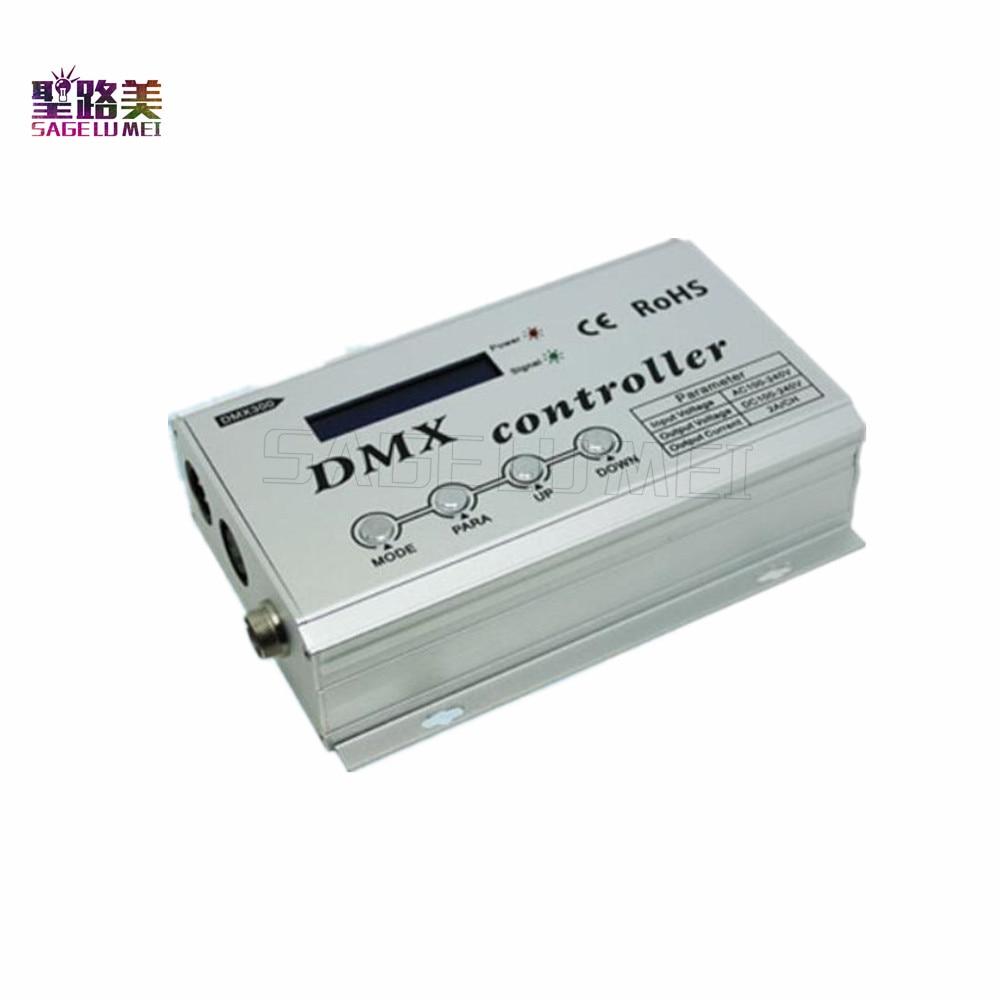 DMX300 AC110V 220V RGB DMX LED Decoder Console Controller Dimmer for High voltage RGB Led Neon