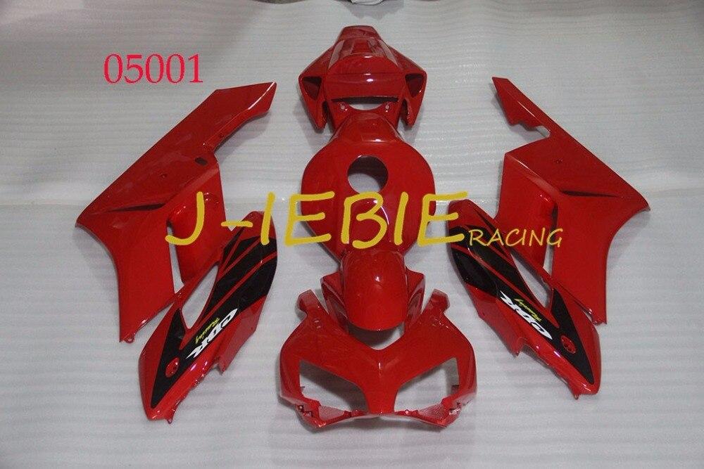 Red Injection Fairing Body Work Frame Kit for HONDA CBR1000RR CBR 1000 CBR1000 RR 2004 2005