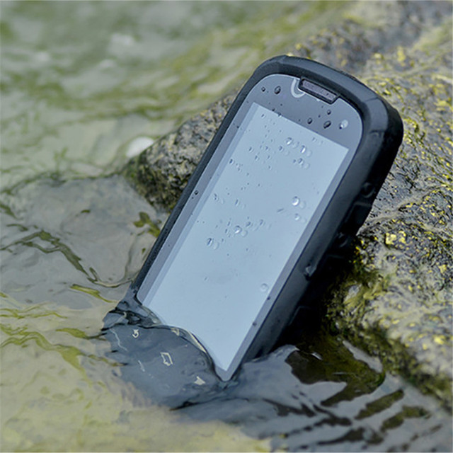 CECTDIGI W83 הזול עמיד למים Smartphone 3G WCDMA Sim הכפול Quad Core נייד טלפון GPS 2600 mAh עמיד הלם טלפון רוסית תפריט