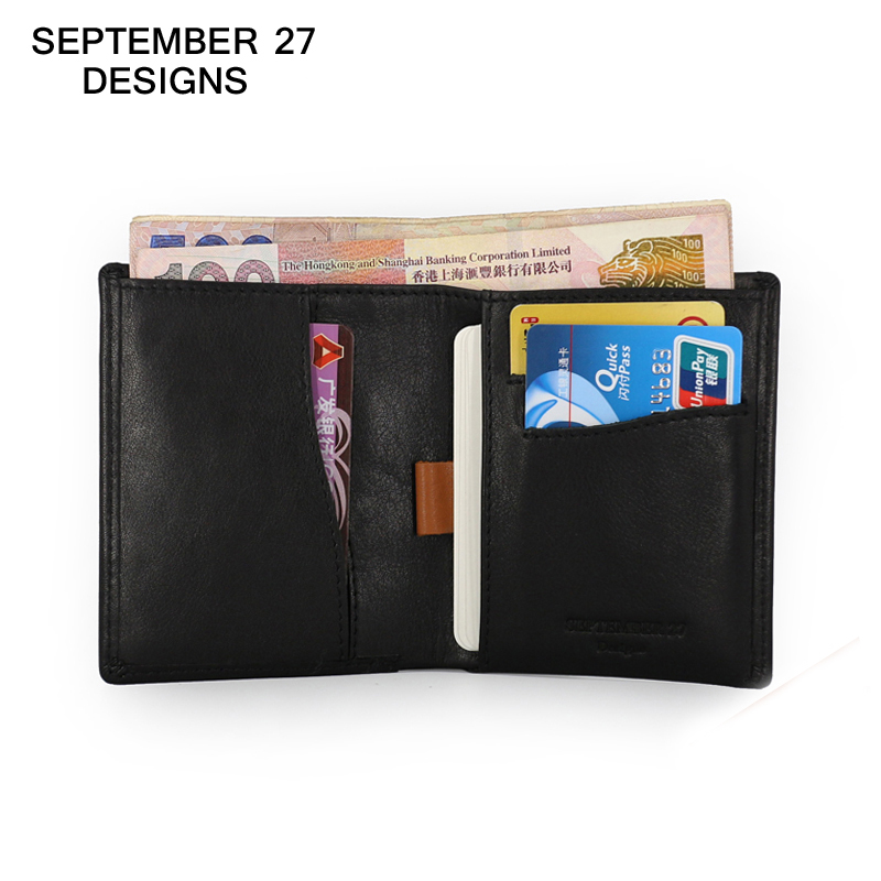 Men Wallets luxury brand genuine leather cowhide Mini Wallet short Bifold Slim Purses thin Money Bag male clutch change Pocket