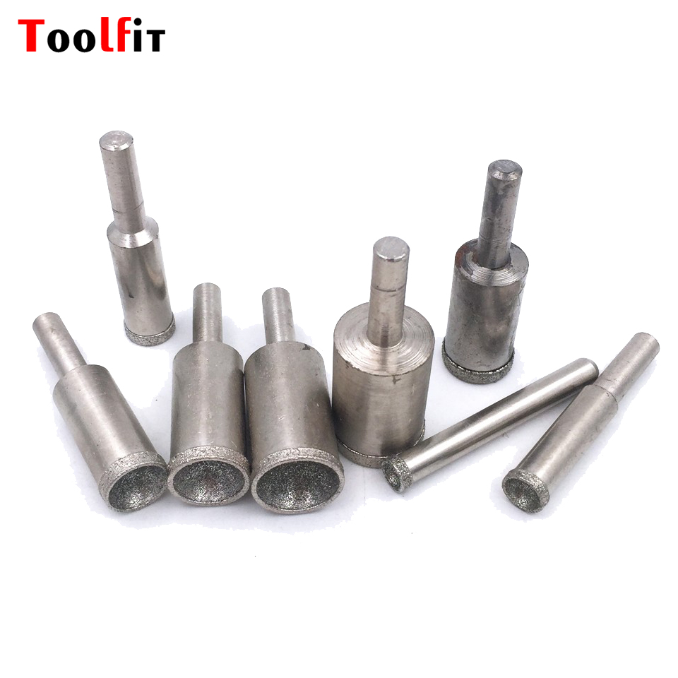 все цены на Toolfit 3pcs Set Rough Grit Electroplated Diamond Mounted Point For Bead Shaping Grinding Buddha Beads Stone Beads Shaping Tools