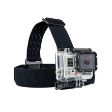 For Go Pro Accessories Action Camera Tripod Headband Head Strap Professional Mount Helmet for SJCAM Sport Cam(China)