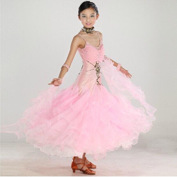 Aliexpress.com : Buy New High Quality Kids Girls Pink White Waltz ...