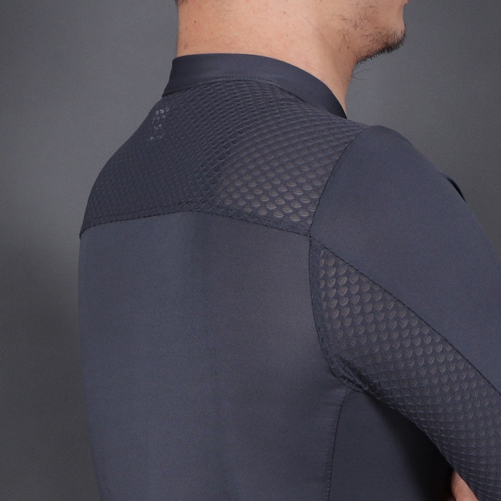 corrida camisa bicicleta sem costura